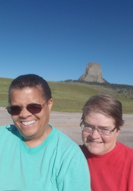 Devils Tower on approach