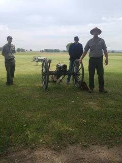 Ranger talk about the 12lb Mountain Howitzer