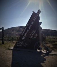 Independence Rock State Historic Site, Wy