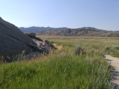Trail at Independence Rock SHS, WY