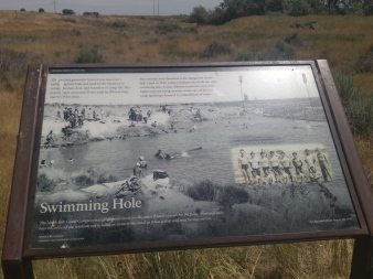Swimming Hole at Minidoka National Historic Site