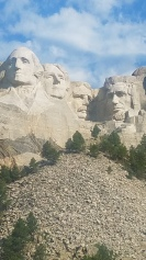 View of Mount Rushmore National Memorial