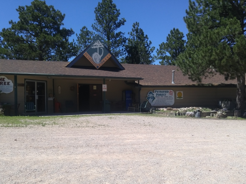 Petrified Forest of the Black Hills museum