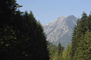Another view of Pyramid Peak in North Cascades National Park.