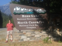 Entrance to Ross Lake National Recreation Area and North Cascades National Park.