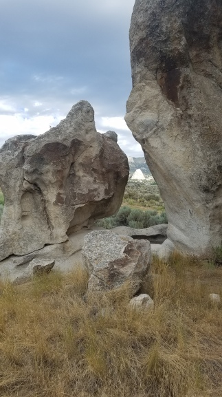 Register Rock view in City of Rocks National Reserve