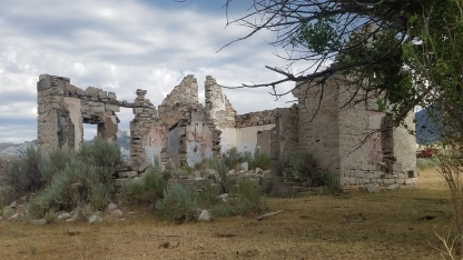 Circle Creek Ranch ruins City of Rocks National Reserve
