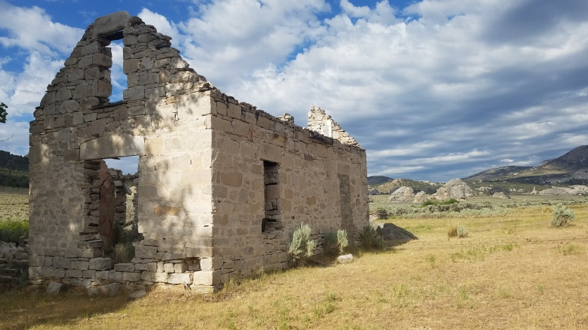 Circle Creek Ranch Ruins in City of Rocks National Reserve