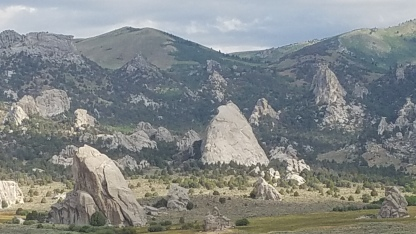 Circle Creek Basin in City of Rocks National Reserve