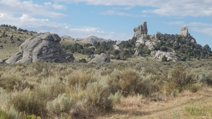 Treasure Rock in City of Rocks National Reserve