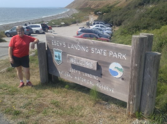 Entrance to part of Ebey's Landing National Historical Reserve and State Park.
