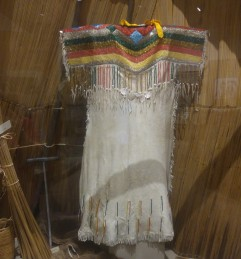 Museum exhibit. Nez Perce National Historic Park.