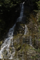 Gorge Creek Falls in the Ross Lake National Recreation Area