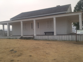 Officer Quarters at the San Juan National Historical Reserve American Camp.