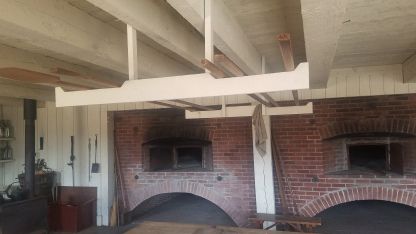 Baking Ovens at the Fort Vancouver National Historic Site.