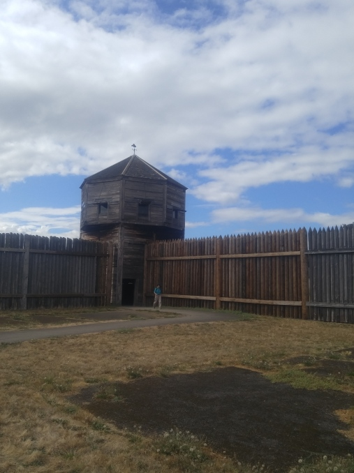 Bastion (guardhouse) at the Fort Vancouver National Historic Site.