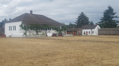 Chief Factor's Residence at the Fort Vancouver National Historic Site.