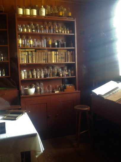 Dispensary at the Fort Vancouver National Historic Site.
