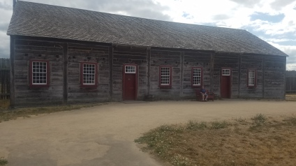 Dispensary and Trading Post at the Fort Vancouver National Historic Site.