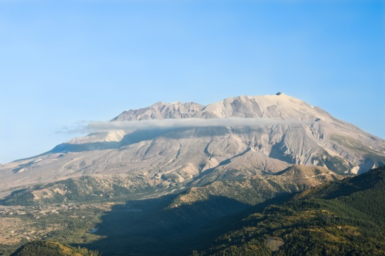 Mount Saint Helens north face. Mount Saint Helens National Volcanic Monument.