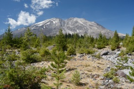 Mount Saint Helens from Lahar Viewpoint (south side)