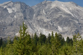 Mount Saint Helens from the Lahar Viewpoint on the south side.