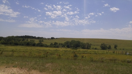 Tallgrass Prairie National Preserve in Strong City, Kansas.