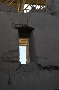 Interior view of the Great House. Casa Grande Ruins National Monument.